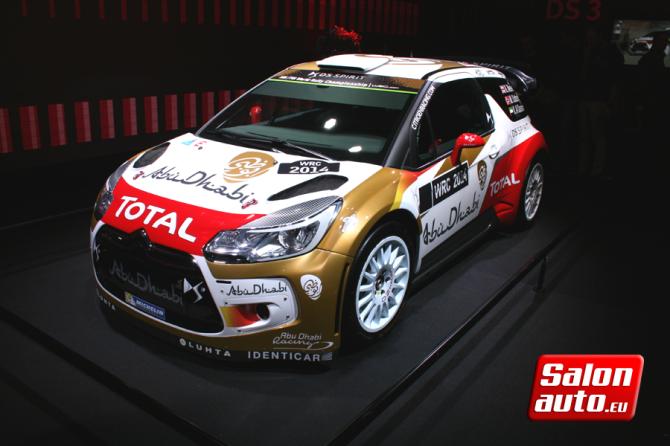 DS 3 WRC 2014