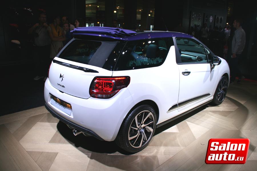 Ds 3 cabrio mondial de l 39 auto 2014 for Tarif salon de l auto