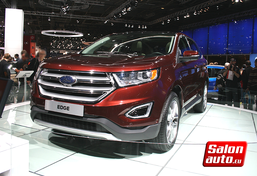Ford edge 2015 vue avant salon auto mondial de l 39 auto 2014 for Salon de auto 2015