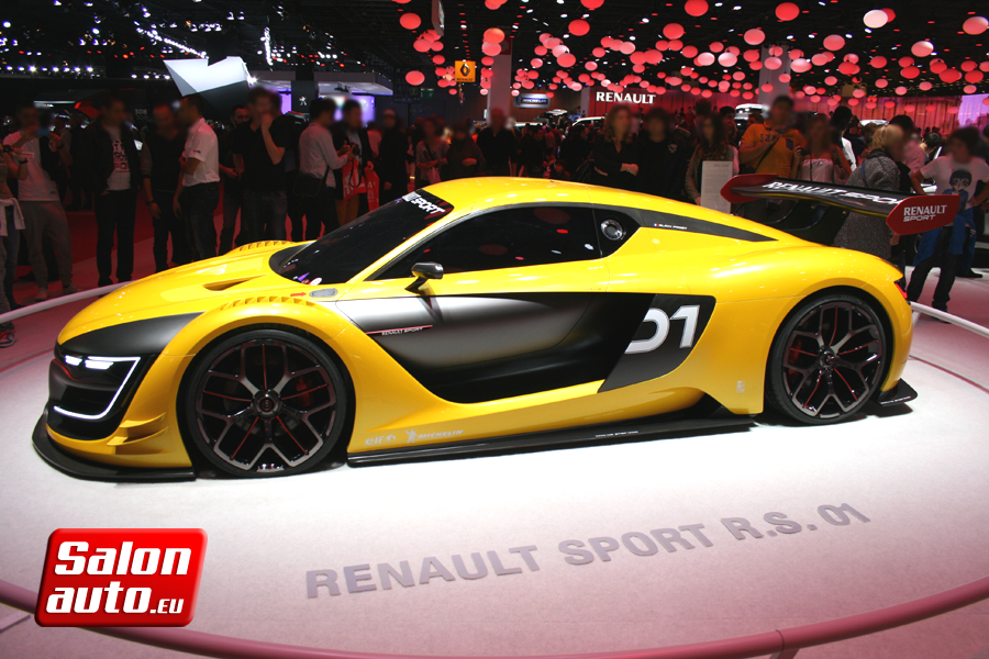 Renault sport rs 01 mondial de l 39 auto 2014 for Tarif salon de l auto