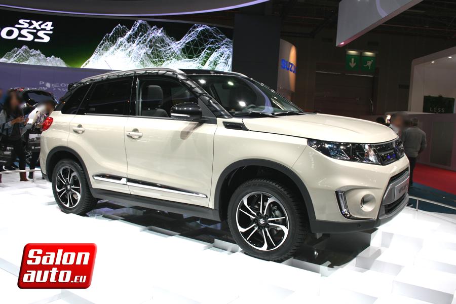 Suzuki vitara mondial de l 39 auto 2014 for Tarif salon de l auto