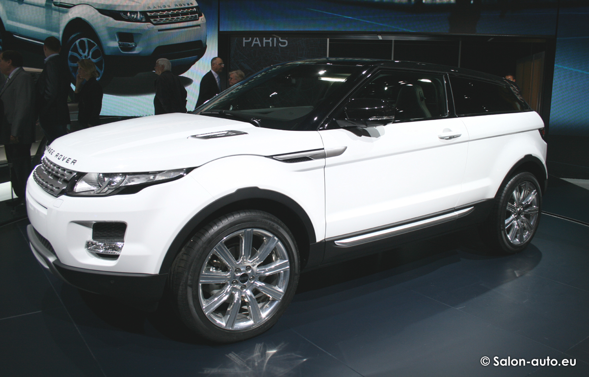range rover evoque mondial auto 2010. Black Bedroom Furniture Sets. Home Design Ideas