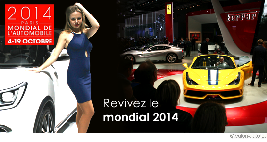 Revivez le salon mondial auto Paris 2014