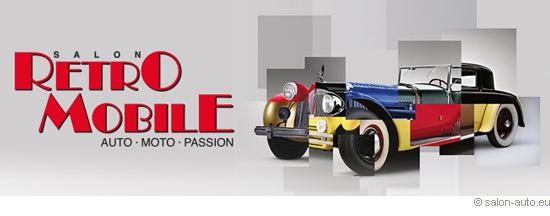 Salon auto rétro mobile 2014